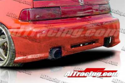 AIT Racing - Honda Civic HB AIT Racing Revolution Style Rear Bumper - HC88HIREVRB3