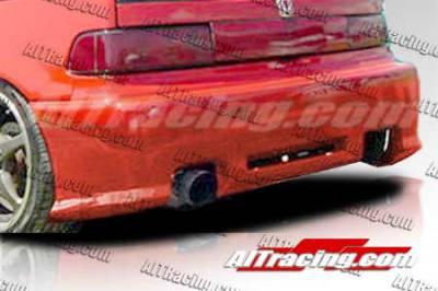 AIT Racing - Honda Civic HB AIT Racing Revolution Style Rear Bumper - HC88HIREVRB3