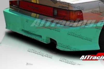 AIT Racing - Honda Civic 4DR AIT Racing Revolution Style Rear Bumper - HC88HIREVRB4