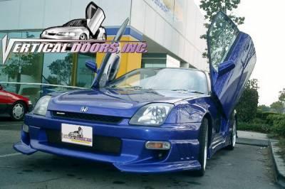 Vertical Doors Inc - Honda Prelude VDI Vertical Lambo Door Hinge Kit - Direct Bolt On - VDCHP9702