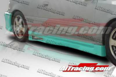 AIT Racing - Honda Civic HB AIT Racing Revolution Style Side Skirts - HC88HIREVSS2