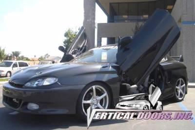 Vertical Doors Inc - Hyundai Tiburon VDI Vertical Lambo Door Hinge Kit - Direct Bolt On - VDCHYTIB9699