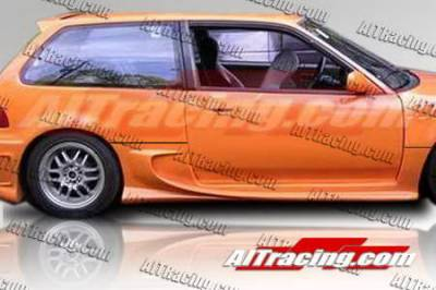 AIT Racing - Honda Civic HB AIT Racing VSS Style Side Skirts - HC88HIVSSSS2