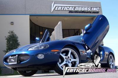 Vertical Doors Inc - Jaguar XKR VDI Vertical Lambo Door Hinge Kit - Direct Bolt On - VDCJAGKX9706
