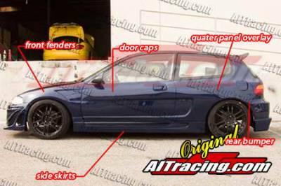 AIT Racing - Honda Civic AIT Racing NX Style Wide Body Kit - HC92BMNXSCK3