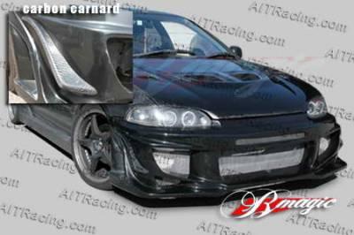 AIT Racing - Honda Civic AIT Racing Vascious Style Front Bumper - HC92BMVASFB