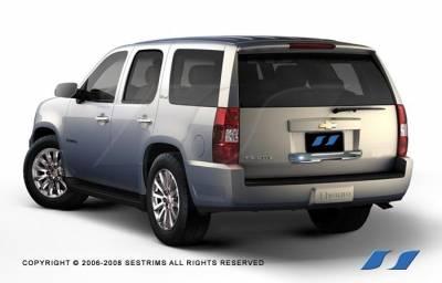 SES Trim - Cadillac Escalade SES Trim ABS Chrome Rear Hatch Door Handle - Lower - RH145L