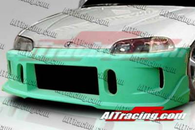 AIT Racing - Honda Civic AIT Racing BCN1 Style Front Bumper - HC92HIBCN1FB