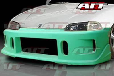 AIT Racing - Honda Civic AIT Racing BCN1 Style Front Bumper - HC92HIBCN1FB2