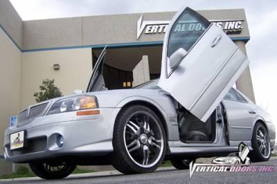 Vertical Doors Inc - Lincoln LS VDI Vertical Lambo Door Hinge Kit - Direct Bolt On - VDCLLS0006