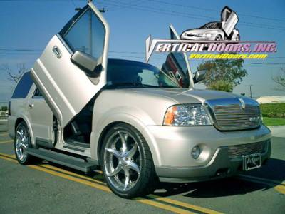 Vertical Doors Inc - Lincoln Navigator VDI Vertical Lambo Door Hinge Kit - Direct Bolt On - VDCLN0305