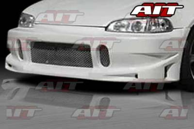 AIT Racing - Honda Civic AIT BCS Style Front Bumper - HC92HIBCSFB2