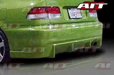 AIT Racing - Honda Civic 2DR & 4DR AIT BCS Style Rear Bumper - HC92HIBCSRB2