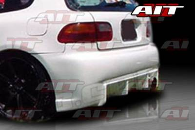 AIT Racing - Honda Civic AIT BC Style Rear Bumper - HC92HIBCSRB3
