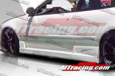AIT Racing - Honda Civic 2DR AIT Racing BC Style Side Skirts - HC92HIBCSSS2