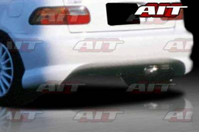 AIT Racing - Honda Civic HB AIT BXS Style Rear Bumper - HC92HIBMXRB3