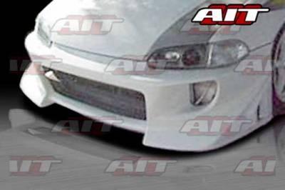 AIT Racing - Honda Civic AIT BZS Style Front Bumper - HC92HIBZSFB2