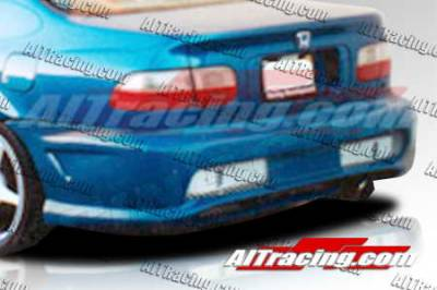 AIT Racing - Honda Civic AIT Racing Combat Style Rear Bumper - HC92HICBSRB2