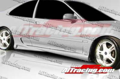 AIT Racing - Honda Civic 2DR AIT Racing Combat Style Side Skirts - HC92HICBSSS2