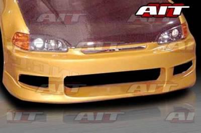 AIT Racing - Honda Civic AIT CWS Style Front Bumper - HC92HICWSFB2