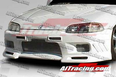 AIT Racing - Honda Civic 2DR AIT Racing EVO3 Style Front Bumper - HC92HIEVO3FB