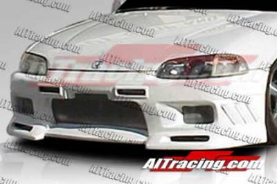 AIT Racing - Honda Civic 2DR AIT Racing EVO3 Style Front Bumper - HC92HIEVO3FB