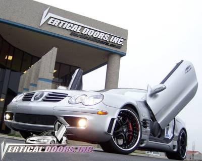 Vertical Doors Inc - Mercedes-Benz SL VDI Vertical Lambo Door Hinge Kit - Direct Bolt On - VDCMERSL0307