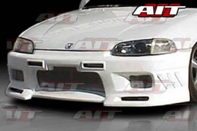 AIT Racing - Honda Civic AIT EVO3 Style Front Bumper - HC92HIEVO3FB2