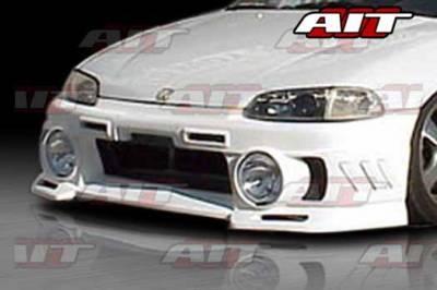 AIT Racing - Honda Civic AIT EVO3 Style Front Bumper - HC92HIEVO3FBL2