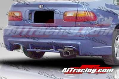 AIT Racing - Honda Civic AIT Racing EVO3 Style Rear Bumper - HC92HIEVO3RB2