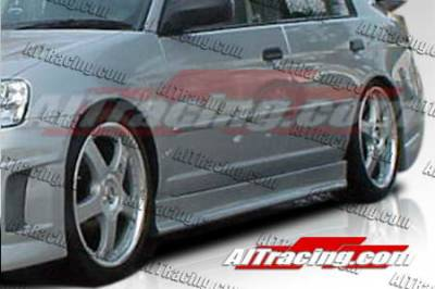 AIT Racing - Honda Civic AIT Racing EVO3 Style Side Skirts - HC92HIEVO3SS2