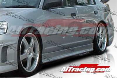 AIT Racing - Honda Civic AIT Racing EVO3 Style Side Skirts - HC92HIEVO3SS2