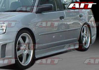 AIT Racing - Honda Civic HB AIT EVO3 Style Side Skirts - HC92HIEVO3SS3