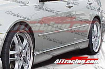 AIT Racing - Honda Civic AIT Racing EVO4 Style Side Skirts - HC92HIEVO4SS2