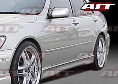 AIT Racing - Honda Civic HB AIT EVO4 Style Side Skirts - HC92HIEVO4SS3