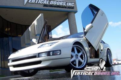 Vertical Doors Inc - Nissan 300Z VDI Vertical Lambo Door Hinge Kit - Direct Bolt On - VDCN300ZX9099