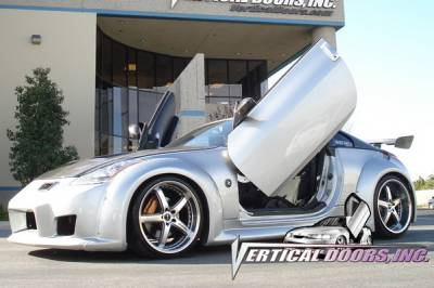 Vertical Doors Inc - Nissan 350Z VDI Vertical Lambo Door Hinge Kit - Direct Bolt On - VDCN3500309