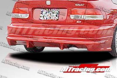AIT Racing - Honda Civic 2DR AIT Racing Feels Style Rear Bumper - HC92HIFLSRB2