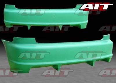 AIT Racing - Honda Civic HB AIT Feels Style Rear Bumper - HC92HIFLSRB3
