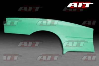 AIT Racing - Honda Civic 2DR AIT Feels Style Wide Rear Panel - HC92HIFLSRF2