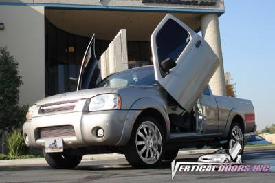Vertical Doors Inc - Nissan Frontier VDI Vertical Lambo Door Hinge Kit - Direct Bolt On - VDCNFRONT9804