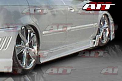 AIT Racing - Honda Civic 2DR AIT MGN Style Side Skirts - HC92HIMGNSS2