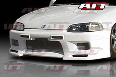 AIT Racing - Honda Civic AIT R33 Style Front Bumper - HC92HIR33FB2