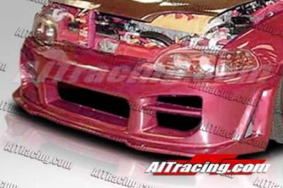 AIT Racing - Honda Civic 2DR AIT Racing R34 Style Front Bumper - HC92HIR34FB