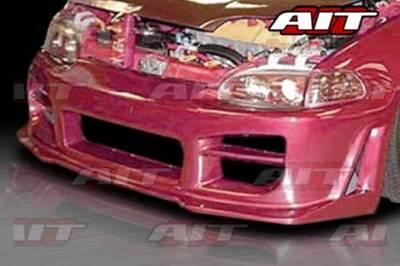 AIT Racing - Honda Civic AIT R34 Style Front Bumper - HC92HIR34FB2