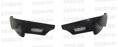 Seibon - Subaru WRX Seibon TS Style Carbon Fiber Rear Lip - RL0607SBIMP-TS