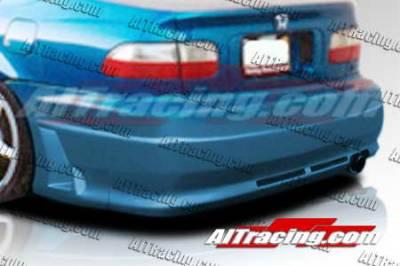 AIT Racing - Honda Civic 2DR AIT Racing R34 Style Rear Bumper - HC92HIR34RB2