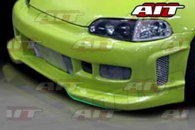 AIT Racing - Honda Civic AIT REV Style Front Bumper - HC92HIREVFB2