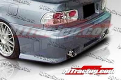 AIT Racing - Honda Civic 2DR AIT Racing Revolution Style Rear Bumper - HC92HIREVRB2