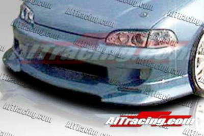 AIT Racing - Honda Civic 2DR AIT Racing SF1 Style Front Bumper - HC92HISF1FB